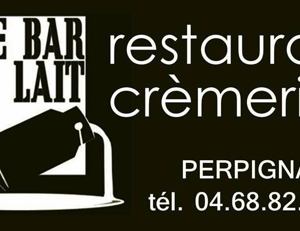 Le Bar à Lait à Perpignan c'est une crèmerie et un restaurant