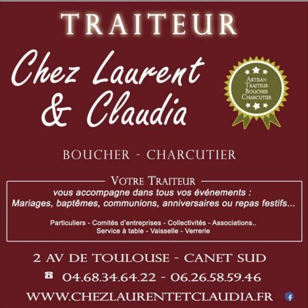 Votre traiteur boucher charcutier rôtisseur( restauration possible en terrasse ) – Chez Laurent et Claudia