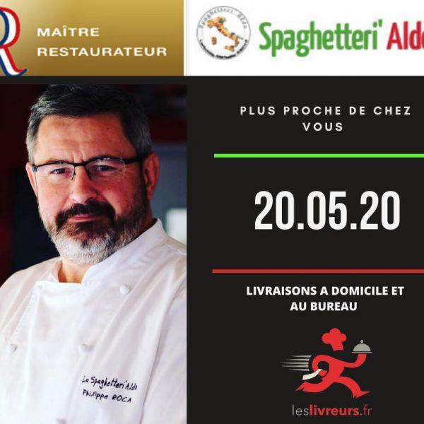 Spaghetteri'Aldo – Que diriez-vous d'un bon repas Italien en plein coeur de Perpignan ??