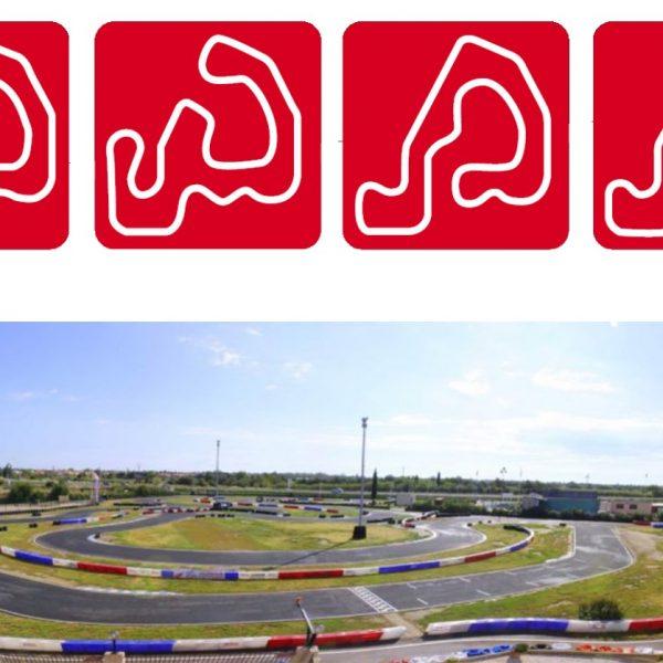 Karting Torreilles – Circuit karting 587 m – 4 tracés